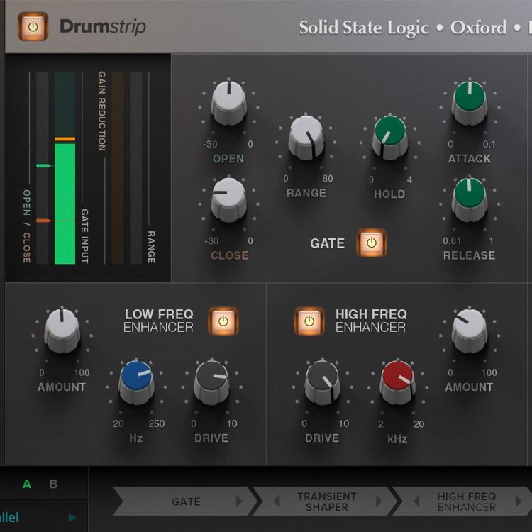 SSL Native Drumstrip