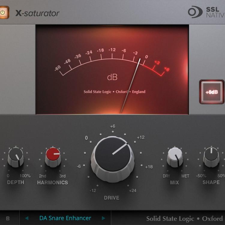 SSL Native X-Saturator